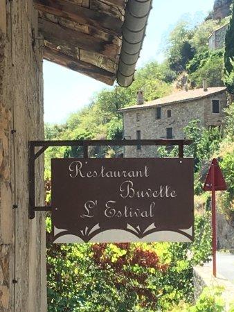 Compregnac, Fransa: 'Estival et sa vue de la terrasse