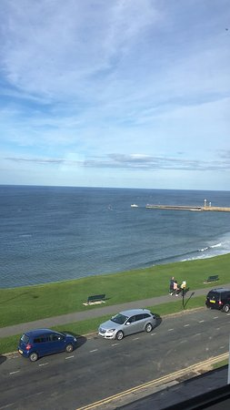 Seacliffe Hotel: View from Room 20