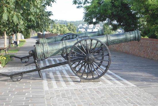 Museum of Military History (Hadtorteneti Muzeum): lungo i bastioni