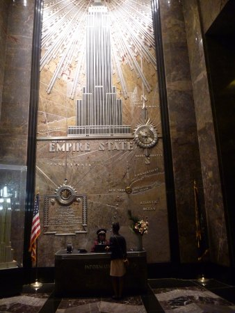 Hall d 39 entr e picture of empire state building new york - Hall d entree decoration ...