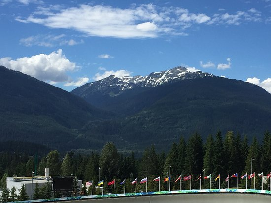 Whistler Sliding Centre: Luge track with a view!