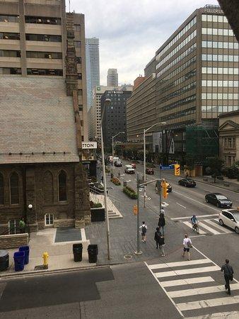 Park Hyatt Toronto: Room next to a corner room