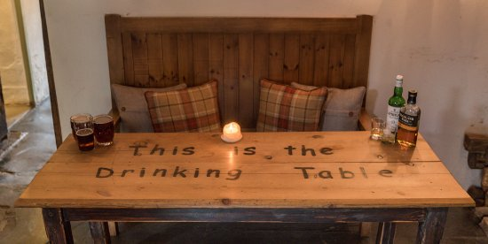 Luxborough, UK: The Drinking Table!