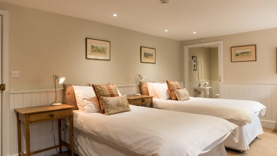 Luxborough, UK: Ground Floor Twin Room
