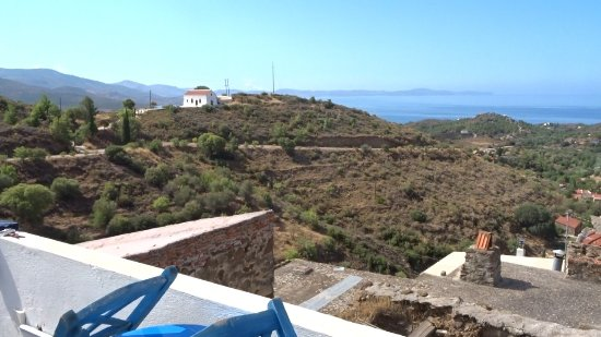 Volissos, Grèce : Views to the left