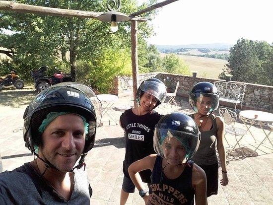 Asciano, Ιταλία: Quad in famiglia