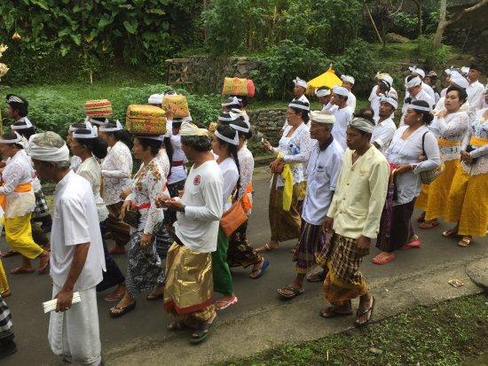 Hotel Batukaru: Beautiful ceremony in Batukaru August 2017