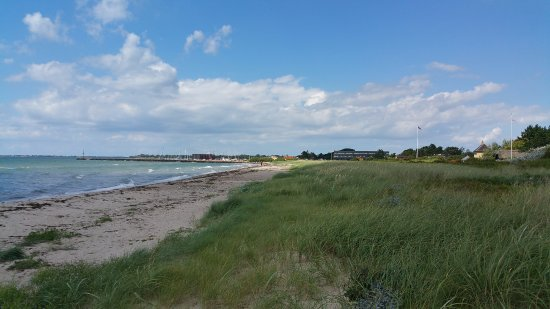 Slagelse, Danmark: On the beach with a view to the Inn
