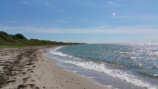 Slagelse, Danimarka: The beach