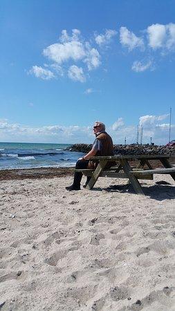 Slagelse, Danmark: The beach