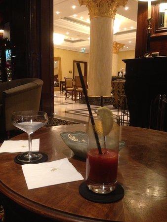 The Ritz-Carlton, Berlin: Le bon plan cocktails (ceux-ci classiques mais les extravagants sont proposés aussi ;-))