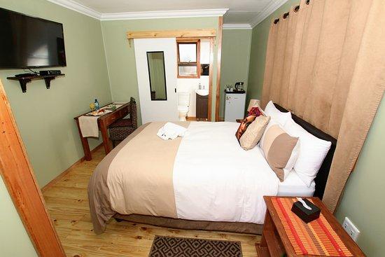 Benoni, Sør-Afrika: The Palms Log Cabin Room