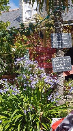 Creperie Chez Renee : Magnifique terrasse