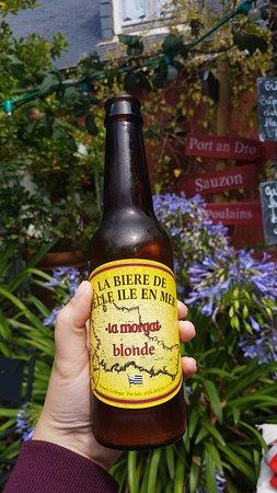Creperie Chez Renee : bière locale