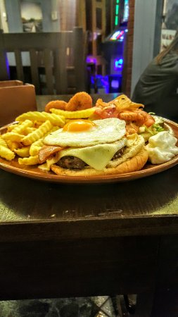 Arriate, España: La mejor hamburguesa de la serrania y barata