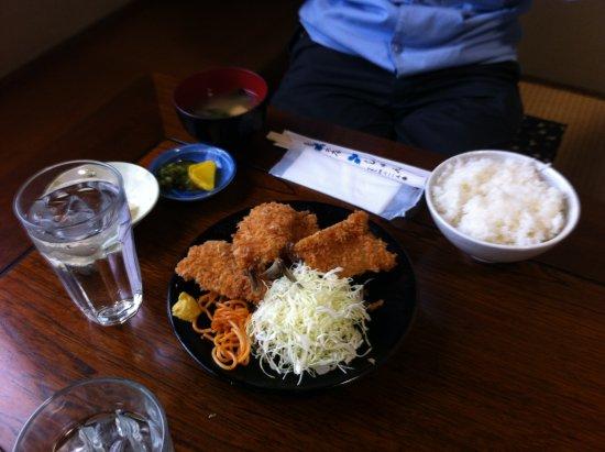 Joso, Japão: ヒレカツ定食