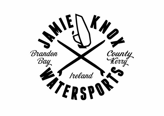 Jamie Knox Watersports: Look out for this logo for Surfing,Windsurfing and SUP lessons and rentals