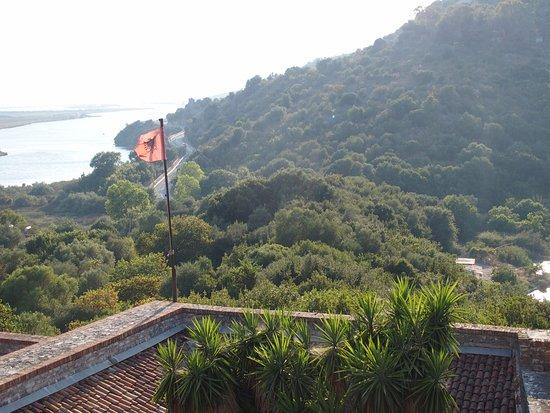 Бутринт, Албания: View from Castle