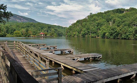 Lake Lure, NC: The area is beautiful.