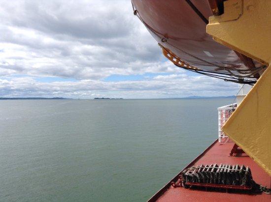 Riviere-du-Loup & Saint-Simeon Ferry: Sur le fleuve Saint-Laurent