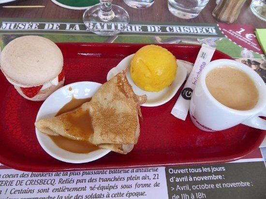 Picauville, France: Café Gourmand