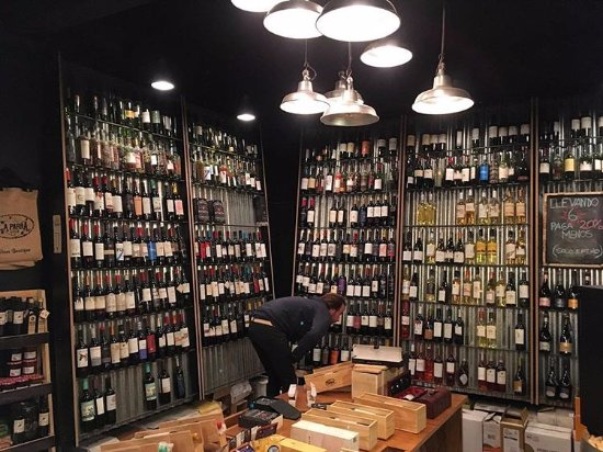 Capital Distrito Federal, Argentina: Genial seleccion de vinos