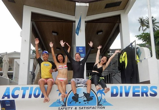 Action Divers : Unforgettable experience!