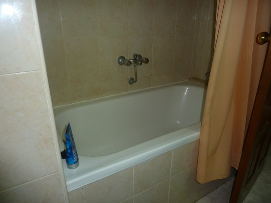 Mont-Rosa Hotel: their is a shower