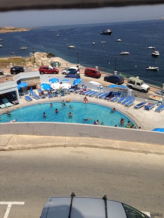 Xemxija, Malta: Pool used by public and residents unable to use