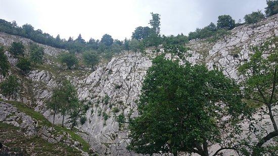 Foncine-le-Haut, France: Source de la Saine