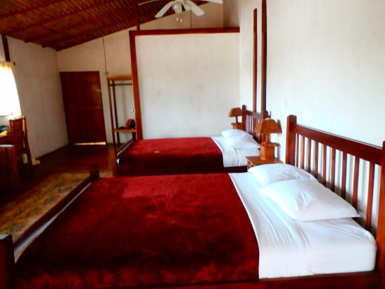 El Castillo, Nicaragua: Double suite doesn't show outside lounging area