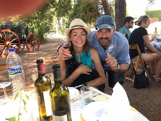 Pyrgos, Griekenland: Very happy