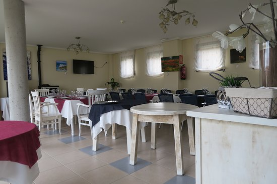 Amanecer en Campos: Hyggelig spiselokale men 100% lokal mad/servering