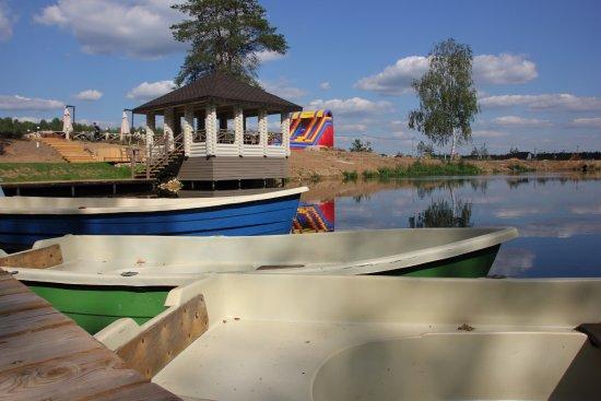 Петрухино, Россия: Ресторан Палисад. Площадки для барбекю