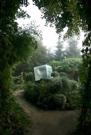 Installation miroir verre b ton photo de jardin int rieur ciel ouvert athis de l 39 orne - Jardin contemporain athis de l orne nantes ...