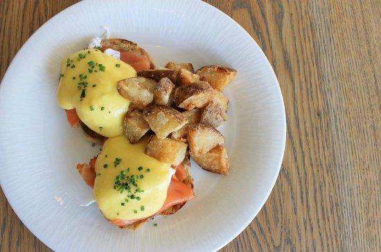 Glen Mills, Pensilvania: Smoked Salmon Eggs Benedict