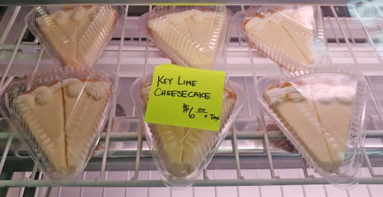 Gypsum, CO: Key lime cheesecake