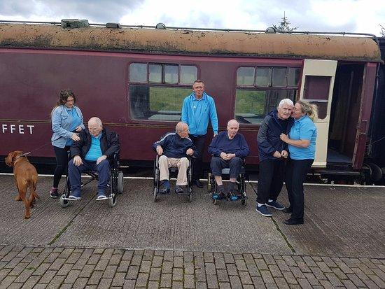Blaenavon, UK: TREGWILYM LODGE RESIDENTS OUTING