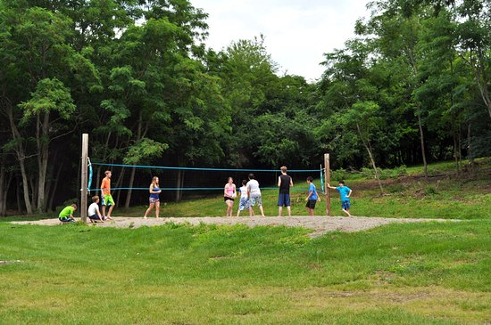 Florida, NY: How about a game of volleyball?