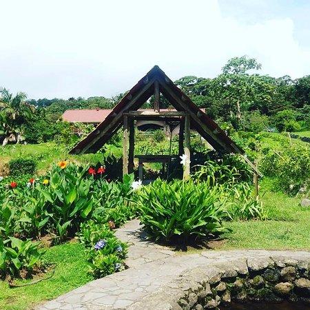 Restaurante Rancho del Sapito: Panorámica de los Jardines