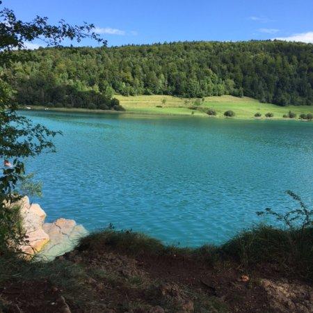 Le Frasnois, Frankrike: Inspiration baignade