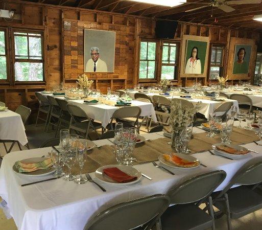 Albany, Nueva Hampshire: Wedding Decor