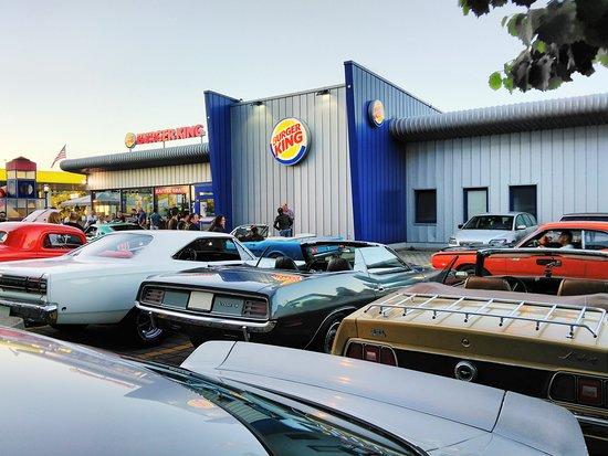 US Car Meeting Burger King Regensdorf - Picture of Burger