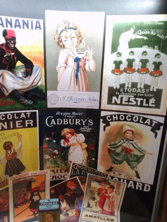 Antiguos carteles publicitarios billede af museu de la - Carteles publicitarios antiguos ...