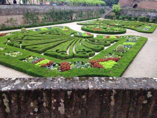 Le jardin billede af les jardins de la berbie albi for Le jardin des quatre saisons albi