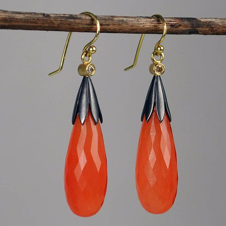 Maysville, KY : Jane Bohan - Carnelian Earrings