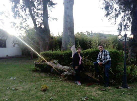 Hacienda- Hosteria Chorlavi: Al atardecer
