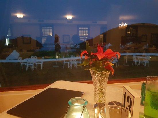 Port Edward, Güney Afrika: Dinner with a view!