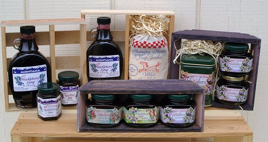 Belgrade, MT: Our gift shop features lots of Montana Huckleberry favorites!