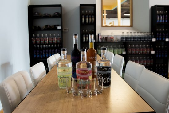 Knoxville, TN: Exciting new spirits both new and aged, gin, liqueur, vodka